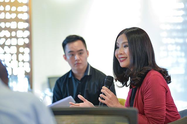 อริญญา เถลิงศรี กรรมการผู้จัดการ SEAC (South East Asia Center) ศูนย์พัฒนาภาวะผู้นำและผู้บริหารระดับสูง