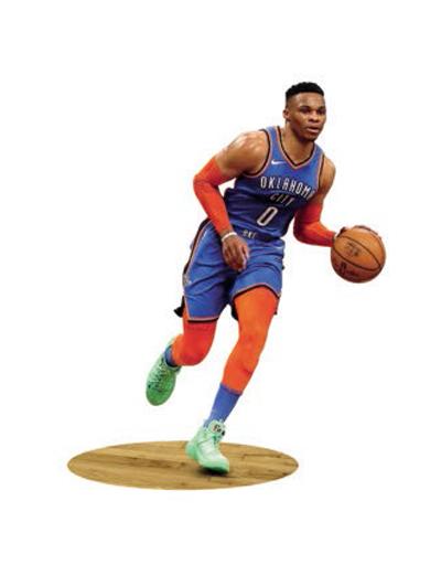 นักกีฬาบาสเกตบอล Westbrook