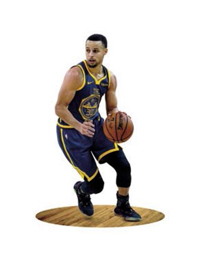 นักกีฬาบาสเกตบอล Stephen Curry