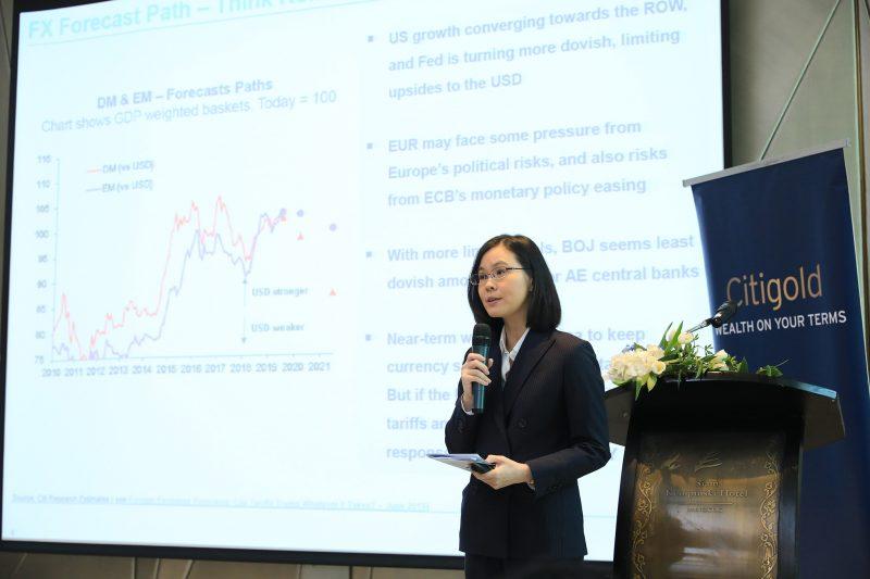 นลิน ฉัตรโชติธรรม นักเศรษฐศาสตร์ ธนาคารซิตี้แบงก์ ประเทศไทย