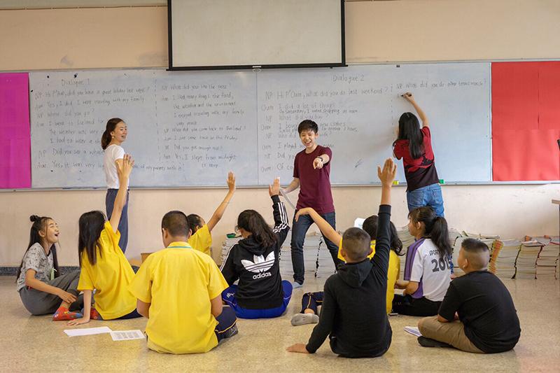 สรวิศ ไพบูลย์รัตนากร Saturday School บันดาลฝันเด็กหลังห้อง